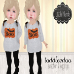 [Little Nerds] Boo Outfit - TD
