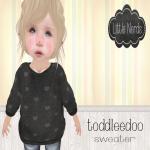 [Little Nerds] Sweater {HEARTS} TD