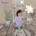 Snippet __ Lavender Starlight B & K