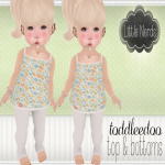 [Little Nerds] Summer Flowers Outfit - TD.