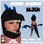 LL Dragon Dream Black