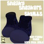 LL Sneakers Skulls