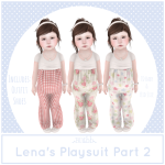 {Blubb} Lena's Playsuit Part 2
