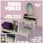 Little Llama Fancy Vanity