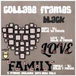 LL Collage Frames Black