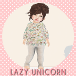 [LU] Unicorn Food Sweater & Leggings AD