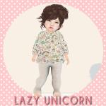 [LU] Unicorn Food Sweater & Leggings AD