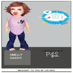 [LVSKIDS]TODDLEEDOO PJS-SMELLY DADDY
